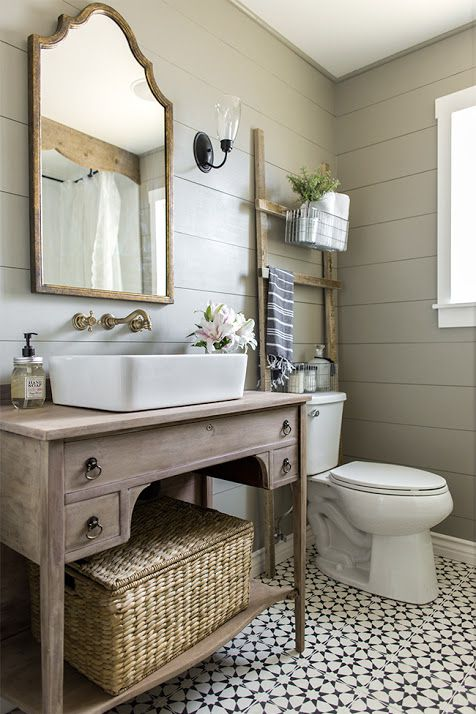 Farmhouse Bathroom Mirror