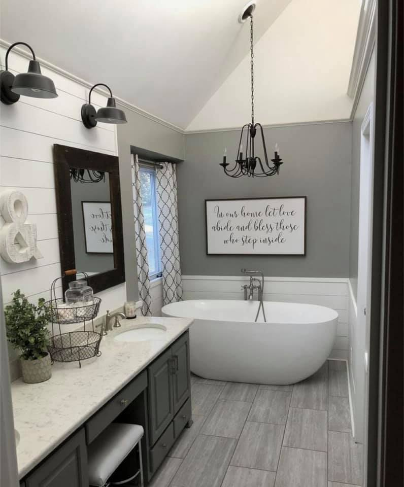 Farmhouse Bathroom Wall Decor