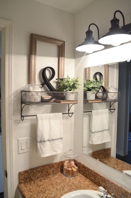 Farmhouse Bathroom Decor 23 Stylish