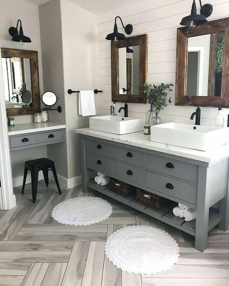 Farmhouse Bathroom Decor 23 Stylish Ideas To Inspire You
