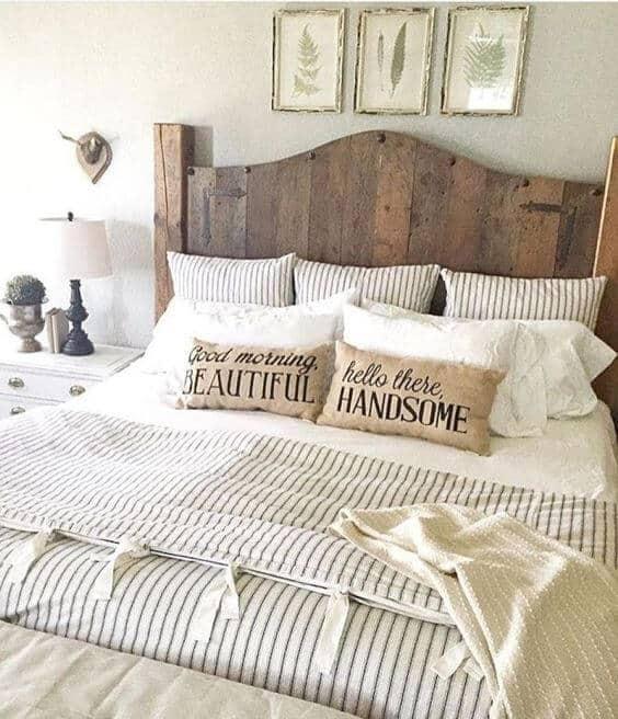 modern farmhouse bedding