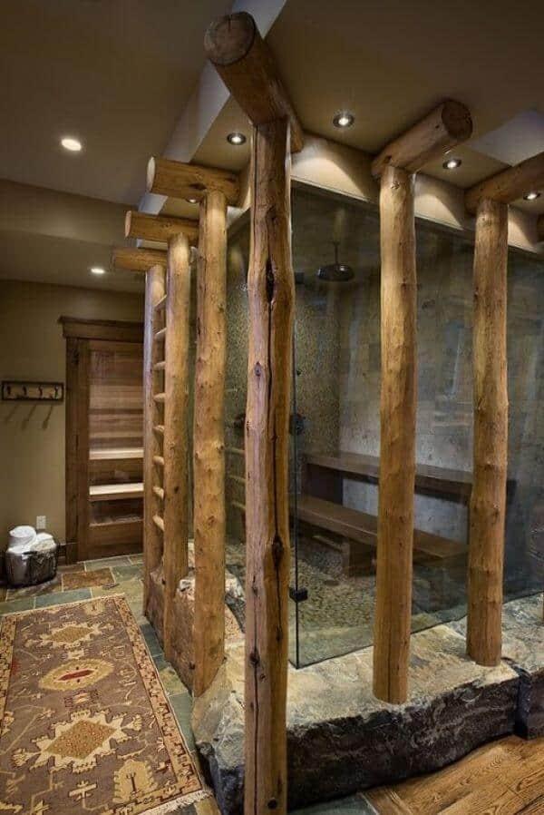 18 Refreshing Rustic Bathroom Design Ideas - Rustic Bathroom Designs 1