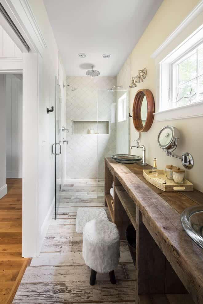 18 Refreshing Rustic Bathroom Design Ideas - Rustic Bathroom Designs 3