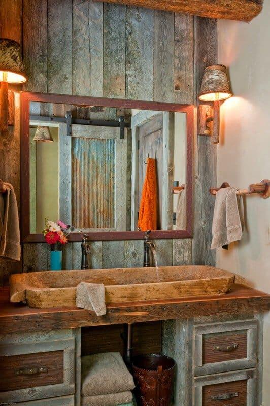 18 Refreshing Rustic Bathroom Design Ideas - Rustic Bathroom Designs 4