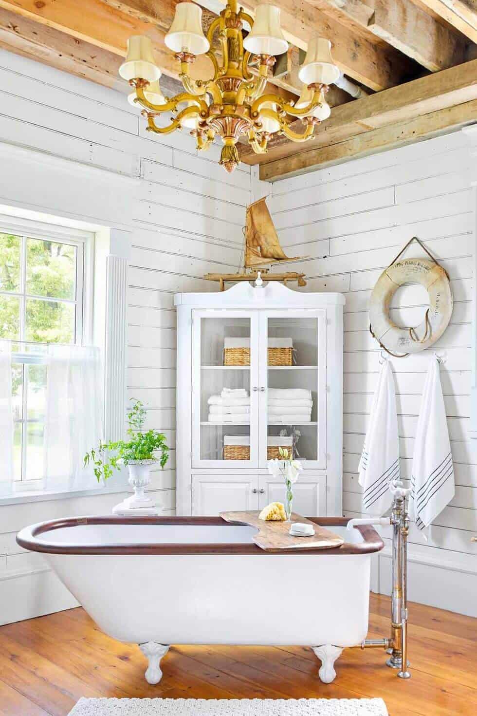 18 Refreshing Rustic Bathroom Design Ideas - Rustic Bathroom Designs 6