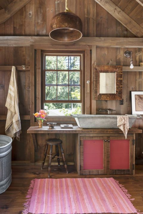 18 Refreshing Rustic Bathroom Design Ideas - Rustic Bathroom Designs 7
