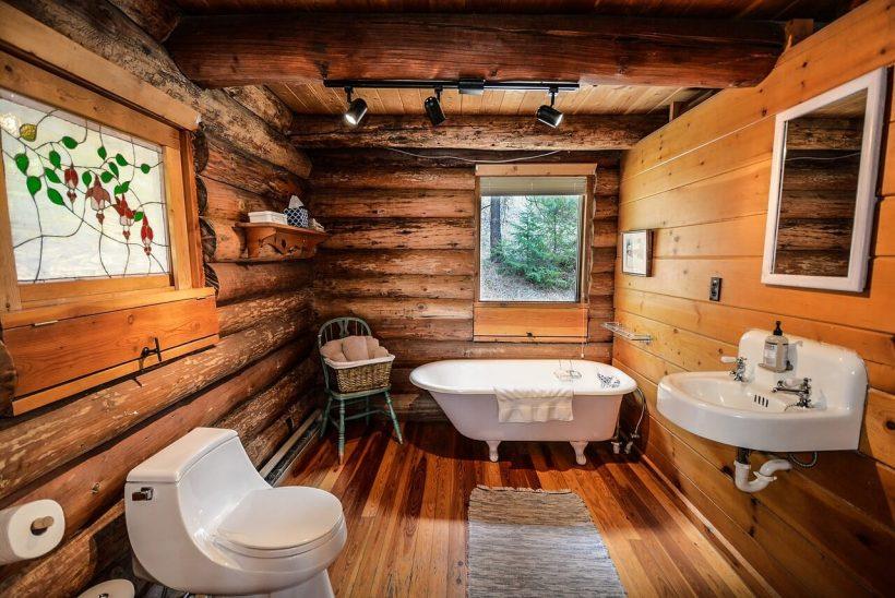 18 Refreshing Rustic Bathroom Design Ideas - Rustic Bathroom Designs 8