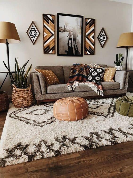 17 Beautiful Rustic Living Room Designs &Amp; Ideas - Rustic Living Room Decor Ideas 1