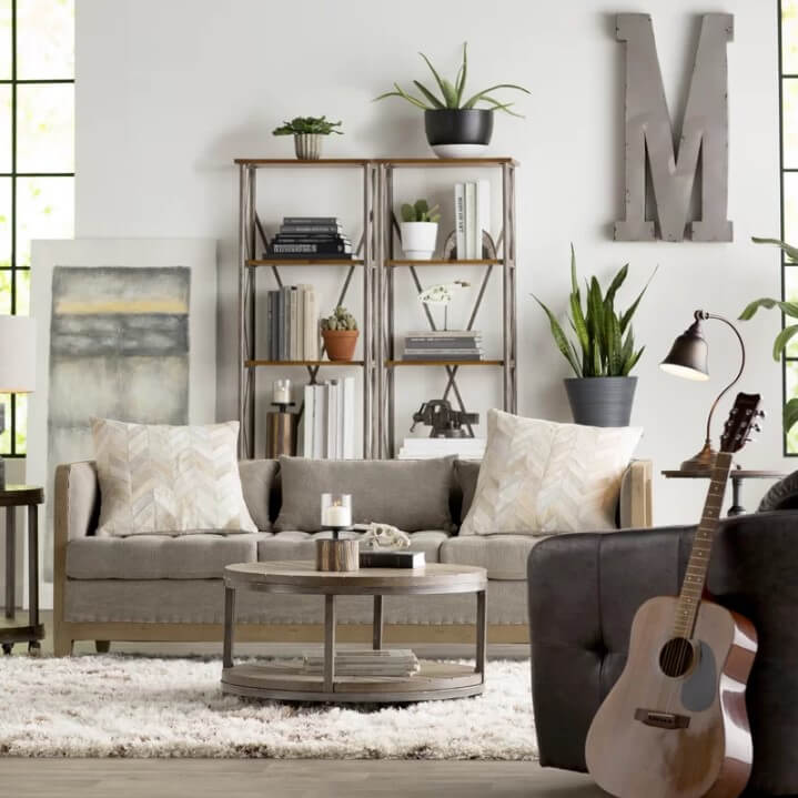 17 Beautiful Rustic Living Room Designs &Amp; Ideas - Rustic Living Room Decor Ideas 12