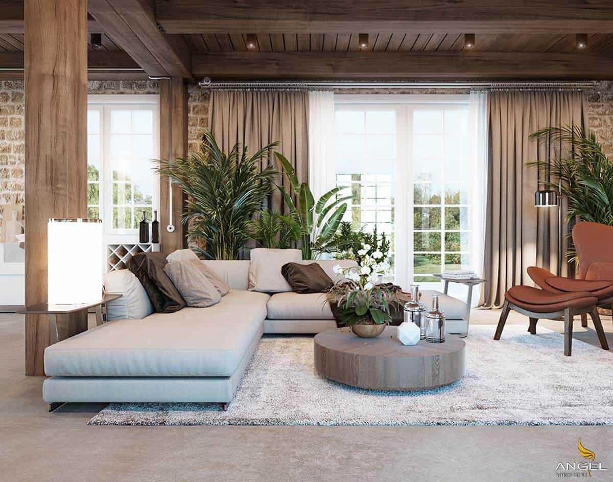 17 Beautiful Rustic Living Room Designs &Amp; Ideas - Rustic Living Room Decor Ideas 15