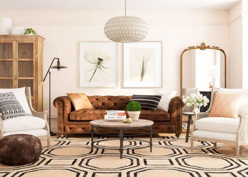 17 Beautiful Rustic Living Room Designs &Amp; Ideas - Rustic Living Room Decor Ideas 4