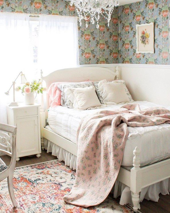 Farmhouse Shabby Chic Bedroom