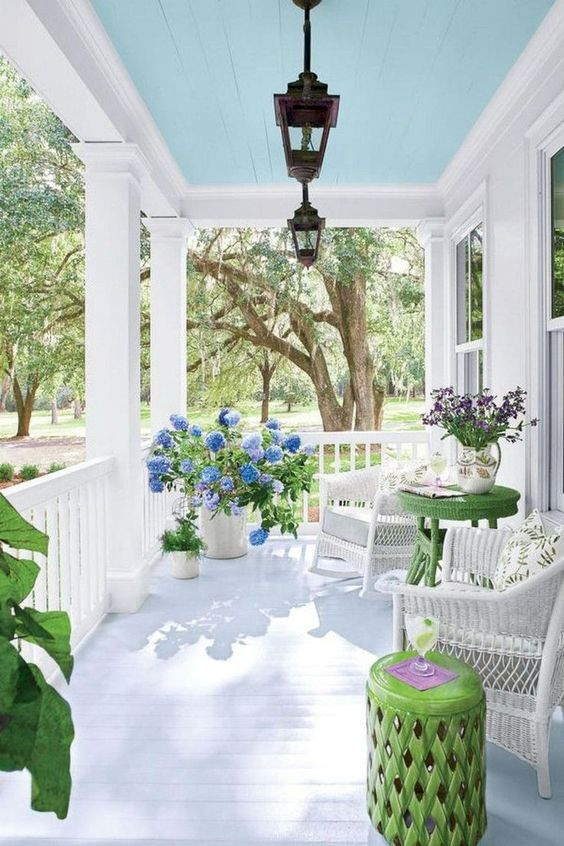 front porch decorating ideas on a budget