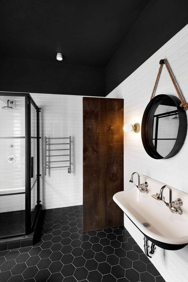 industrial bathroom style