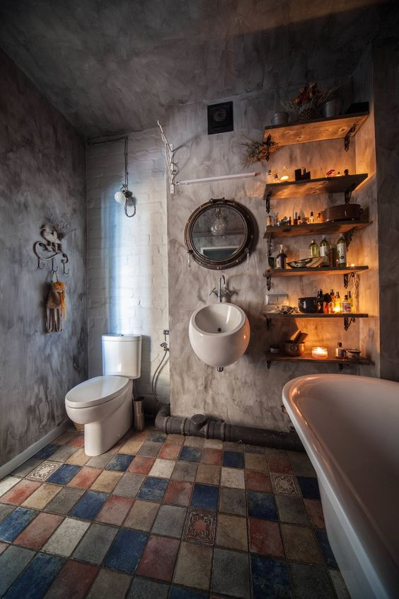 industrial bathroom ideas