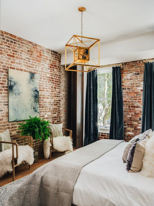 modern industrial bedroom