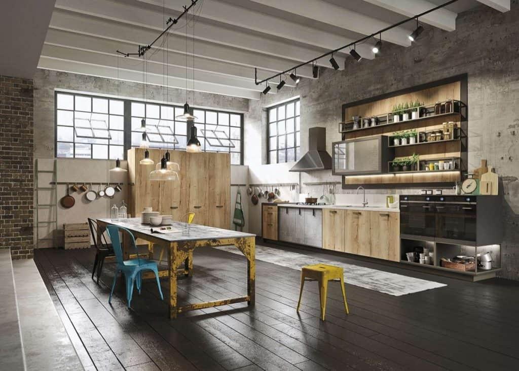 Hardwood Flooring for Kitchen