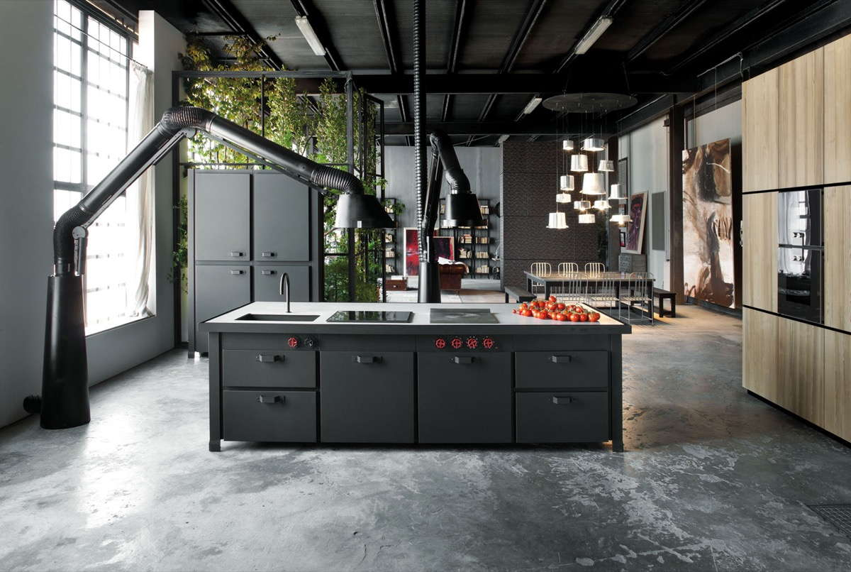Industrial Kitchen Picture