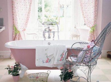Shabby Chic Bathroom - Shabby Chic Bathroom Vintage Decor Ideas 13