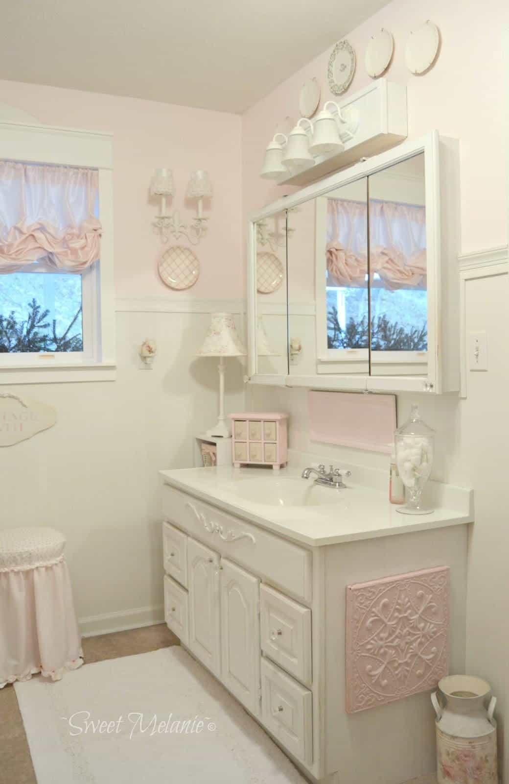 shabby chic bathroom shower curtains