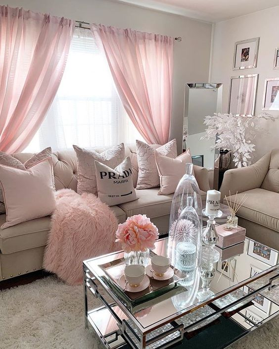 Shabby Chic Living Room - Shabby Chic Style Living Room Vintage Ideas 1