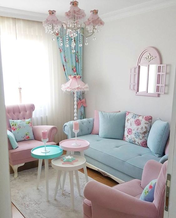 Shabby Chic Living Room - Shabby Chic Style Living Room Vintage Ideas 12