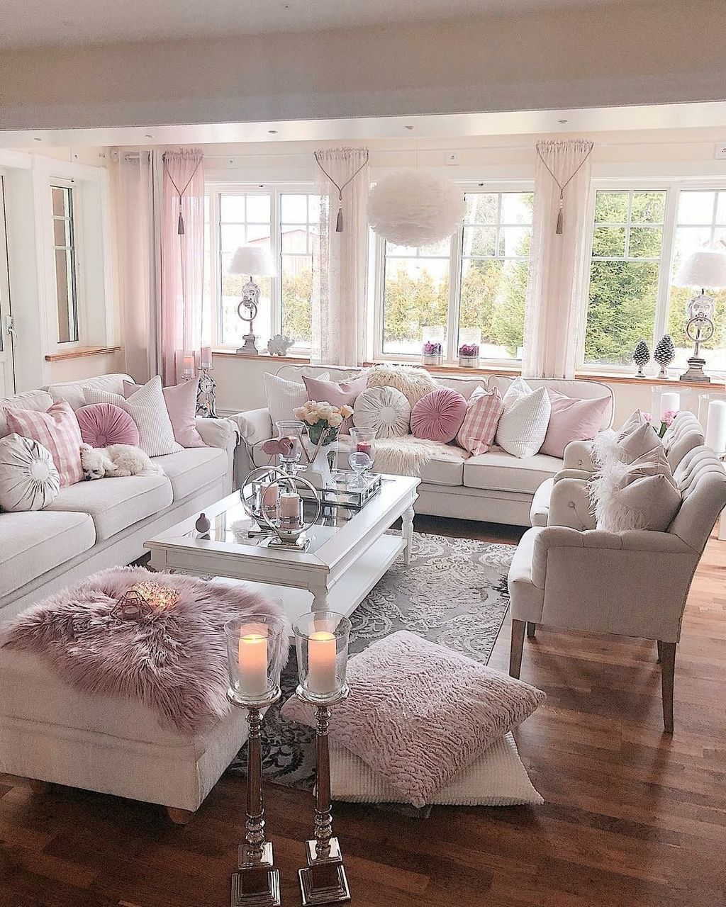 Shabby Chic Living Room - Shabby Chic Style Living Room Vintage Ideas 14