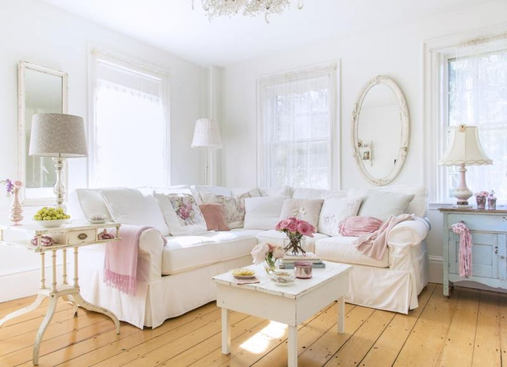 Shabby Chic Style Living Room Vintage Ideas 2