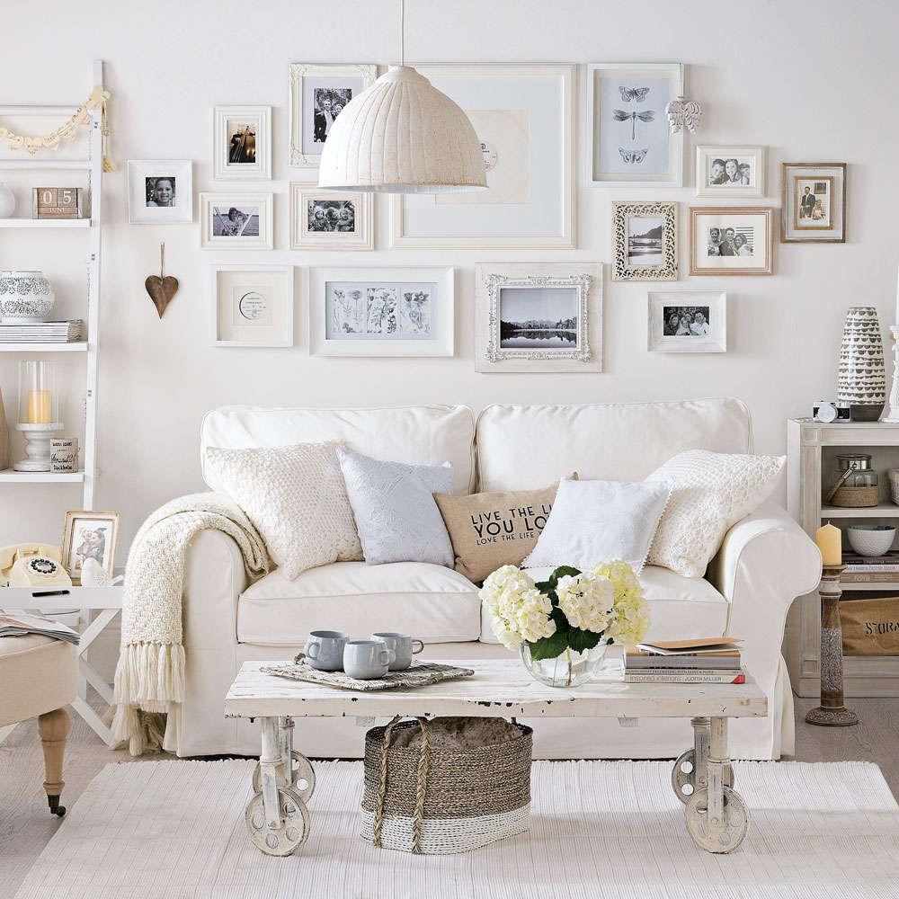 Shabby Chic Living Room - Shabby Chic Style Living Room Vintage Ideas 20