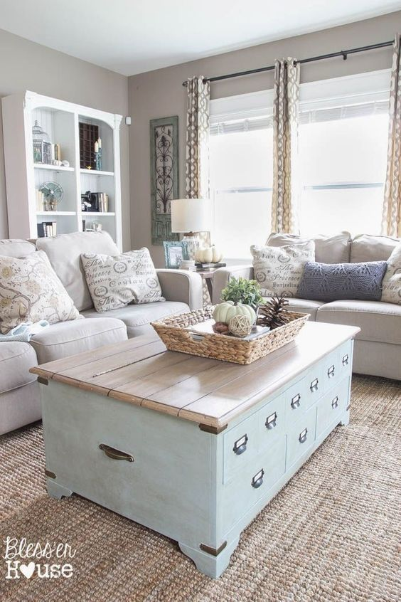 Shabby Chic Living Room - Shabby Chic Style Living Room Vintage Ideas 23