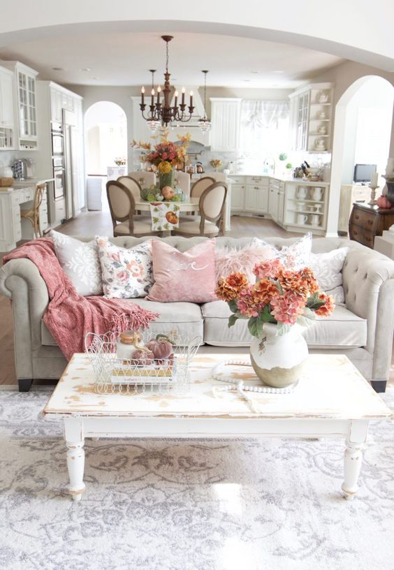 Shabby Chic Living Room - Shabby Chic Style Living Room Vintage Ideas 3