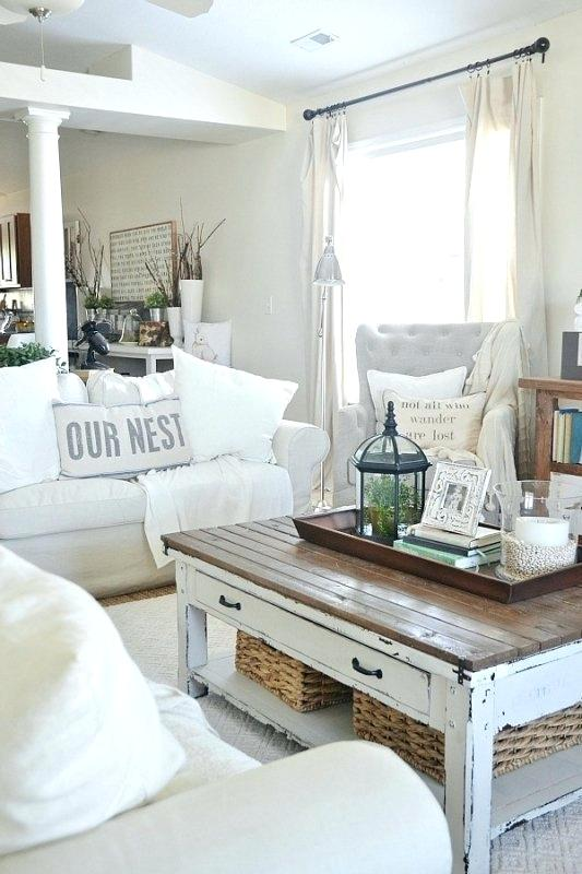Shabby Chic Living Room - Shabby Chic Style Living Room Vintage Ideas 9