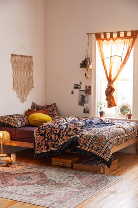 Bedroom Style Ideas - Bohemian Style Bedoom Ideas