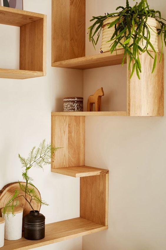 kitchen corner shelf ideas