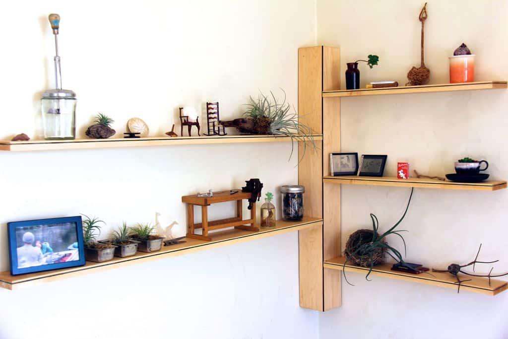 diy floating corner shelf plans