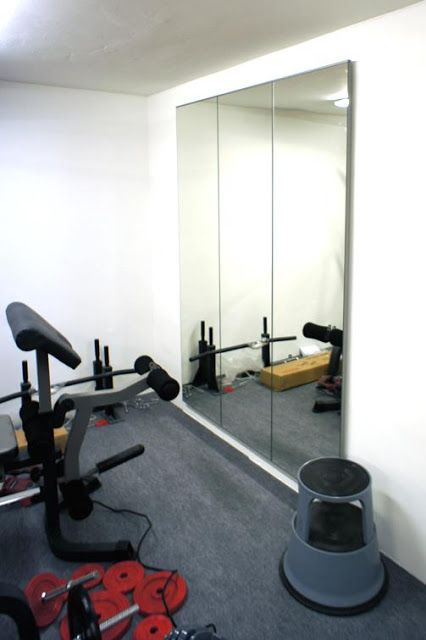 Home Gym Ideas - Home Gym Mirror