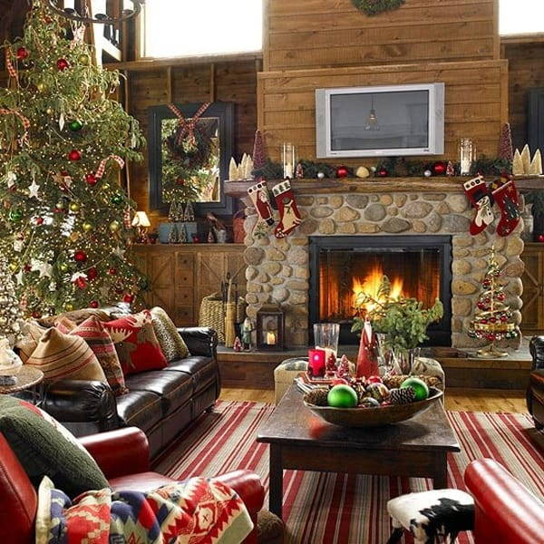 DIY rustic christmas decor