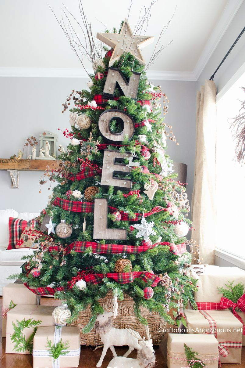 31 Simple Rustic Christmas Decoration Ideas For 2021