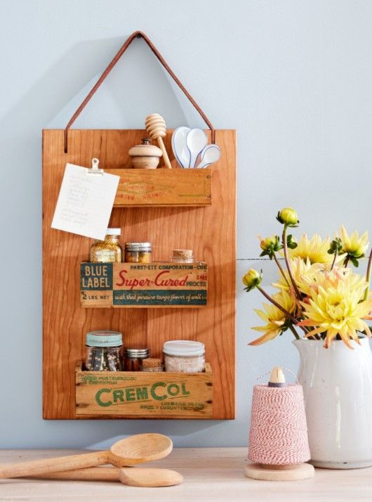 51 Diy Christmas Gift Ideas That Your Friends &Amp; Family Will Love - Diy Cutting Board Spice Rack