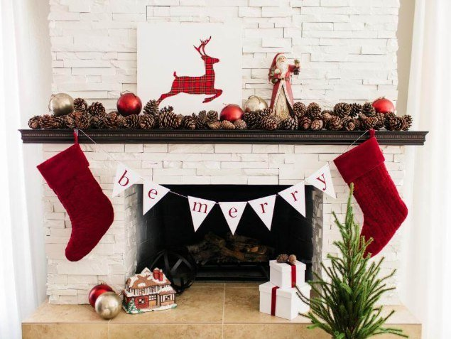 how to decor fireplace
