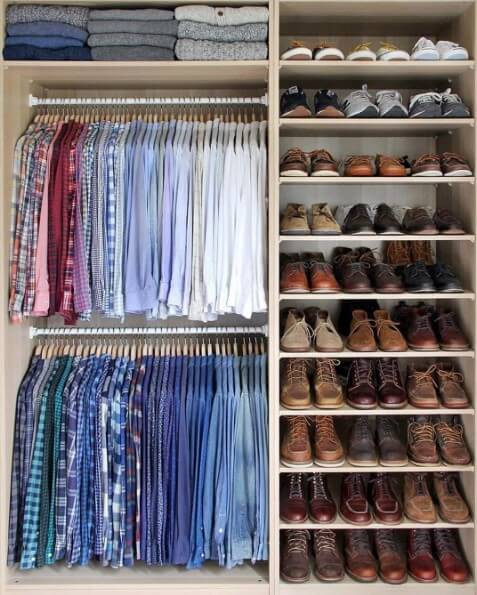 diy closet organizer with drawers