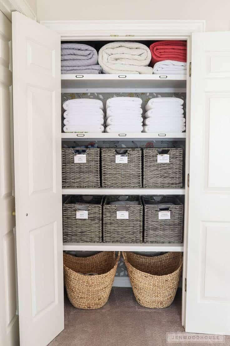 diy closet organization ideas on a budget