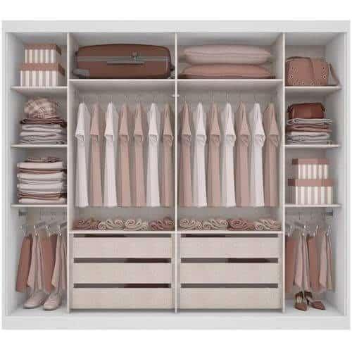 walk in closet organization ideas