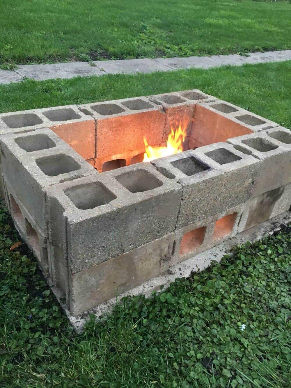 DIY firepit plans