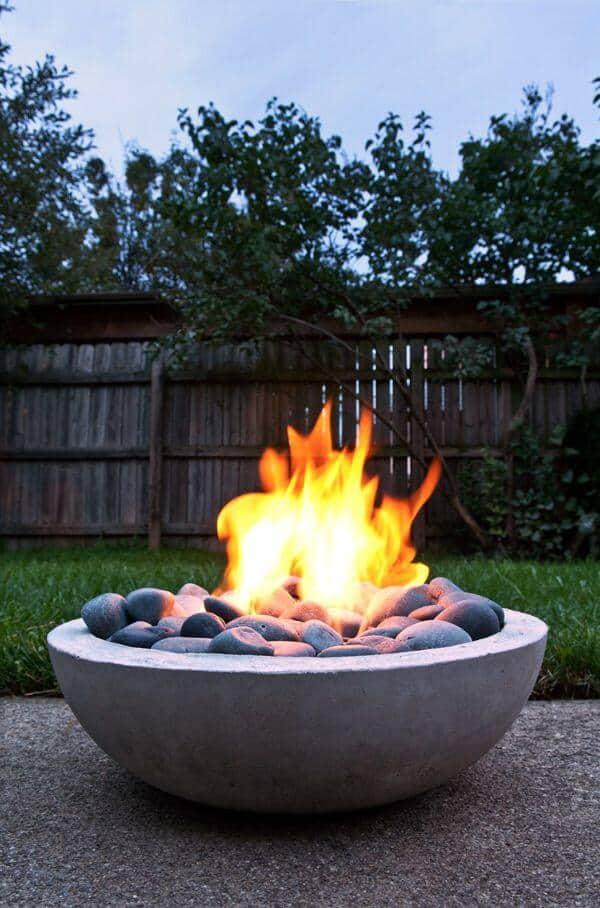 DIY fire pit plan