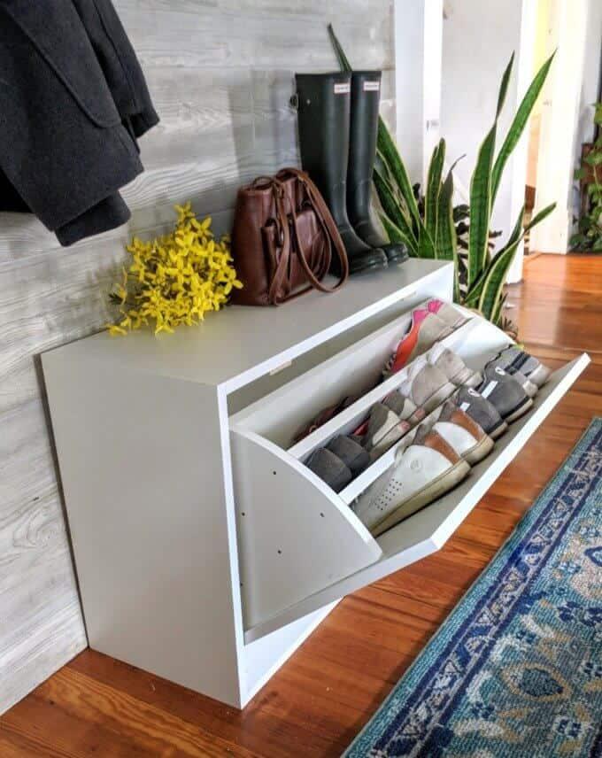 DIY Shoe Rack Plan