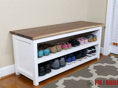 Diy Shoe Rack Ideas - Diy Shoe Rack For Entryway By Fixthisbuildthat