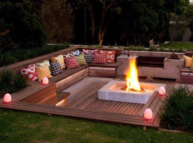 Make a fire pit