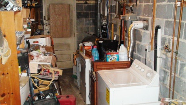 Basement Laundry Room - Basement Laundry Room Makeover By Onehomemade