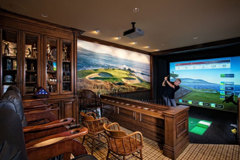 incredible man cave